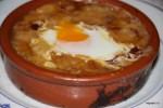 Мадрид. Чесночный суп с яйцом в ресторане Ботин