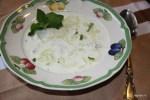 Холодный огуречно-мятный суп