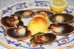 Жареные на гриле гребешки в ресторане Casa Parrondo