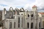 Остов собора в Лиссабоне, разрушенного землетрясением 1755 года