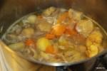 Суп-пюре из каштанов