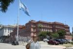 Президентский дворец Casa Rosada в Буэнос-Айресе