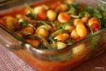 Ньокки с томатным соусом и рукколой