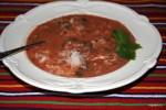 Египетский томатный суп с рисом