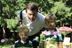 Мой старший сын со своими сыновьями