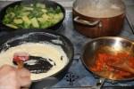 Процесс приготовления Паста Примавера