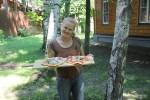 Одну пиццу Маргарита уже съели
