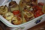 Фаршированные перцы по-итальянски