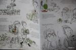 Книга Алена Дюкаса проиллюстрирована смешными рисунками и его диалогами с диетологом Поль Нейра
