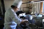 На кухне ресторана Casa Ramon, Овьедо, Астурия