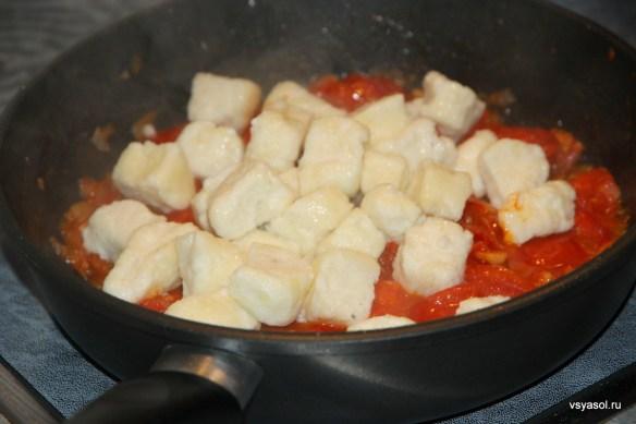 Ленивые вареники по итальянскому рецепту