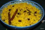 Желтый пряный рис - лучший гарнир для боботи