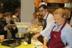 С поваром Вермишели Евгением на мастер-классе в Фермер Базаре
