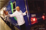 Тьерри Маркс превратил парижскую электричку в вагон-ресторан