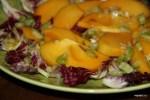 Салат из хурмы под соусом винегрет