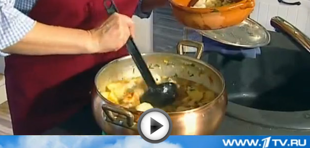 Видео рецепт испанского супа Мармитако | Вся Соль