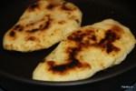 Лепешки жарим в растительном масле на сковороде