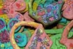 При дневном свете печенья  выглядят еще нарядней