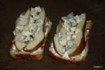 Третий слой тартинов - горгонцола