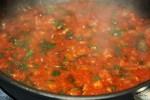 Томатный соус: лук, чеснок и консервированные помидоры