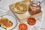 Завтрак с кремом из красных апельсинов