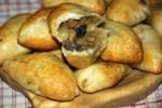 Пирожки с белыми грибами и картошкой