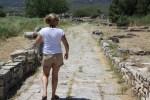 Остатки священного пути к Храму Геры. Самос