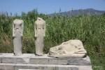 Вдоль всего священного пути к Храму Геры стояли мраморные изваяния