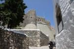 Один из бастионов монастыря Св. Иоанна на о. Патмос
