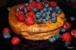 Итальянский чизкейк из рикотты с ягодами