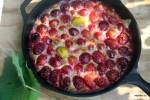 Тарт с садовой сливой
