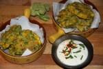 Пряные оладушки из кукурузы и брокколи