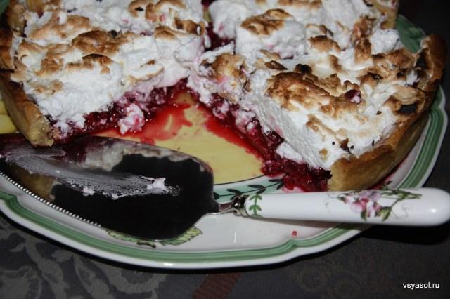 Брусничный торт с меренгой – Вся Соль - кулинарный блог Ольги Баклановой