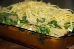 Отправляем в духовку сырное суфле