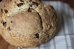 Сдовоый хлеб с розмарином и клюквой