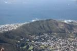 Кейптаун с высоты Столовой горы