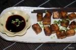 Запеченный маринованный тофу