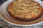 Яблочный пирог с розмариновой крошкой