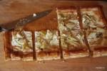 Тарт с артишоками и фетой