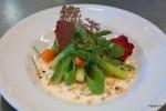Сырный салат с хрустящими овощами