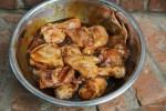 Курица, замаринованная в соусе мисо