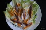 Каталонский салат с цикорием и анчоусами под соусом Xato