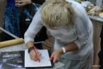 Автограф на память о мастер-классе