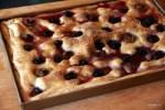 Тосканская сладкая фокачча с виноградом
