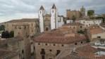 Вид на Касерес с колькольни Кафедрального собора