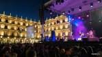 Ночной рок-концерт на Пласа Майор, Саламанка