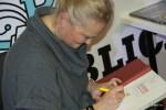 Автограф для книжного магазина Республика