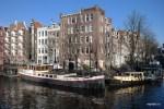 Редкая для Амстердама ясная зимняя погода