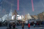 Стеклянный фасад роттердамского рынка