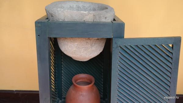Так фильтровали воду в Трухильо в XIX веке